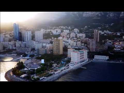 The Principality of Monaco, French Riviera  -  Dji Mavic Pro drone -  Skydronauts