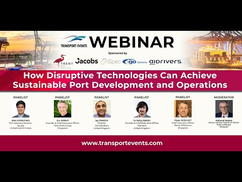 02 - Jon ARNUP, Founder & Chief Executive Officer, Trent Ports Group, Singapore