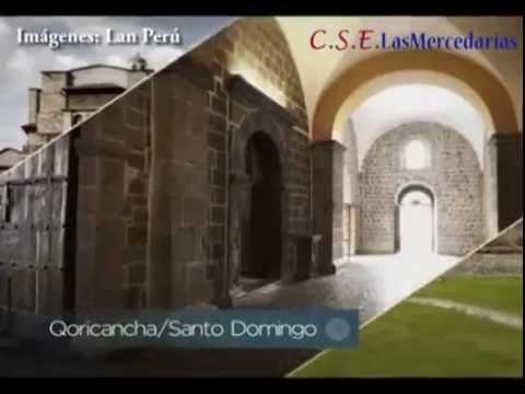 Cusco: el Coricancha al costado del colegio de Las Mercedes