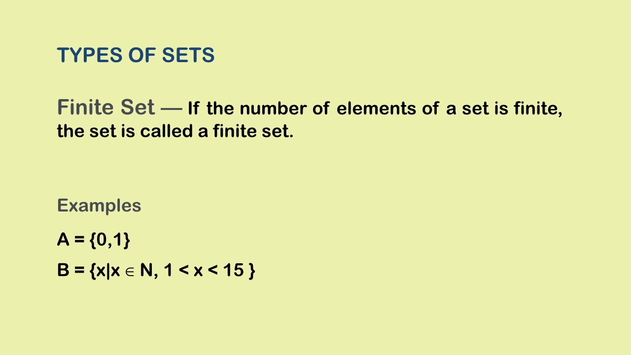 how to find the cardinality of a set