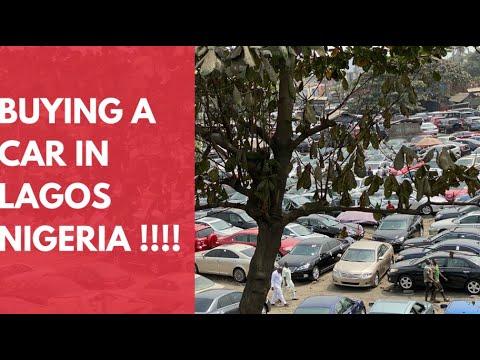 BUYING A CAR IN LAGOS NIGERIA -  MUST WATCH!
