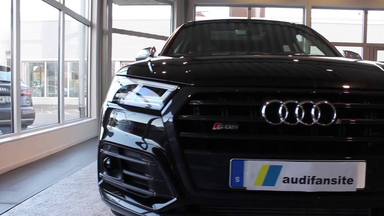 2018 Panther Black Audi Sq5 354ps Start Up Dynamic Turning Signals
