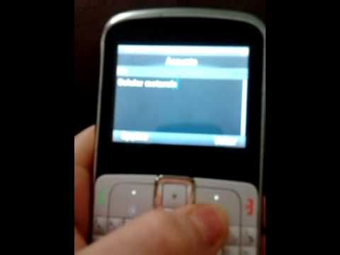 Celular Motorola EX112 funcionando