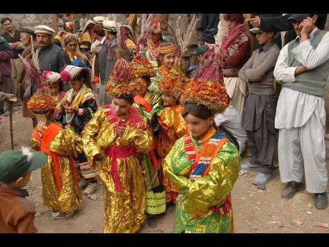 Joshi Festival Kalash  Chitral  a  Documentary on Abdul Wali khan University Mardan.wmv