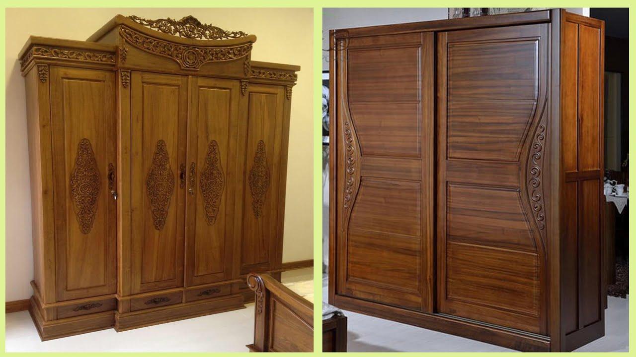 150 Wooden Almirah Cupboard Designs Ideas For Bedroom Youtube