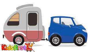 Kid's Cartoons - CAR TRAILER - Doc McWheelie Moving Home! Car Doctor