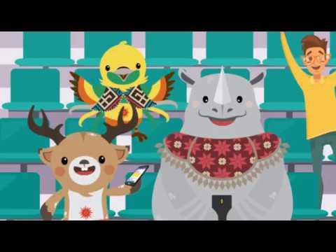 [Motion Grafis] Wifi Gratis Selama Asian Games 2018