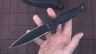 Smith & Wesson HRT boot knife review - Tactical dagger