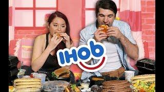 IHOP (IHOB?!) MUKBANG!