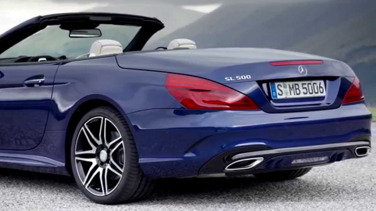 2017 mercedes benz sl 500 exterior and interior trailer youtube. Black Bedroom Furniture Sets. Home Design Ideas