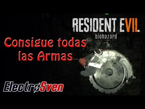 Resident Evil 7 - Guía - Localización Todas las armas y datos sobre ellas.