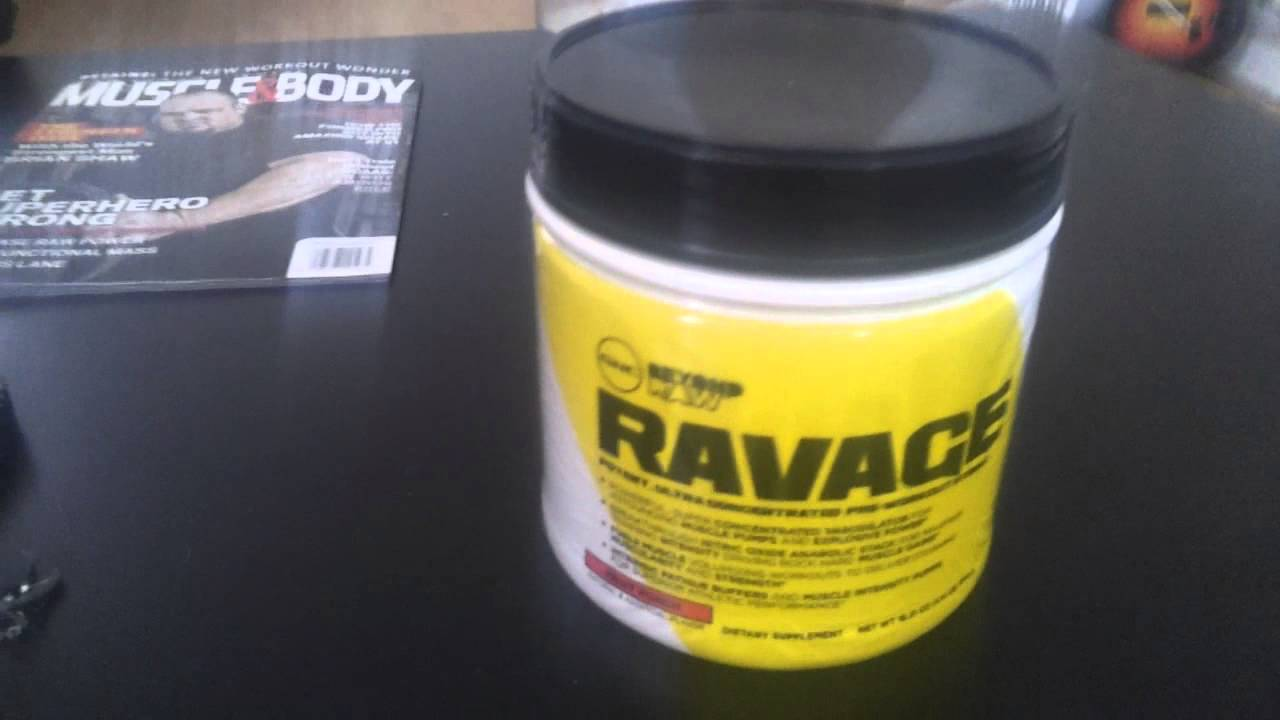 Ravage Pre Workout Review Youtube