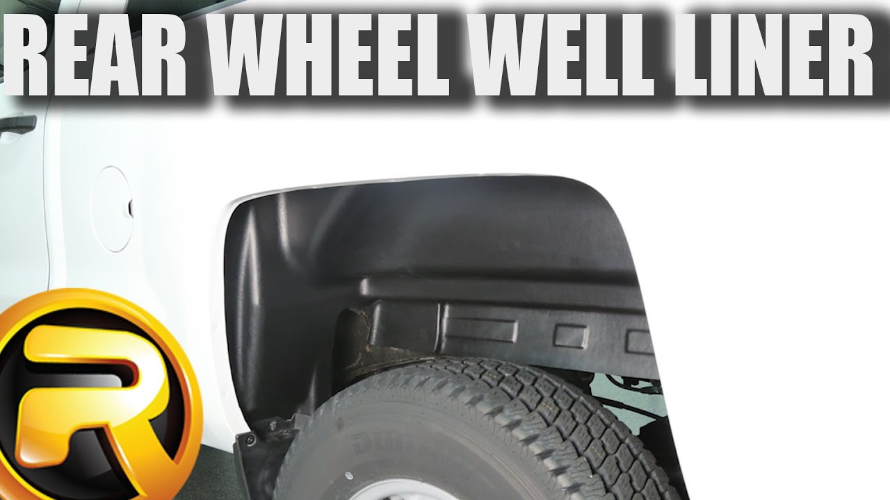 Rugged Liner Rugged Rear Wheel Well Liners Video