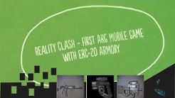 REALITY CLASH - The world's first augmented reality mobile Game with ERC-20 armoury