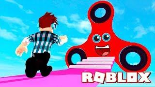 ПОБЕГ ОТ СПИННЕРА в ROBLOX БОЛЬШОЙ СПИННЕР развивающий Мультик Игры Видео Для детей Майнкрафт Дети thumbnail