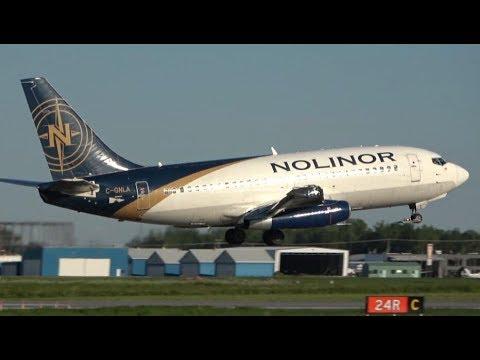 Download Close-up Plane Spotting at Montreal/Saint-Hubert Airport (YHU)