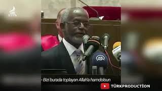 Sudan Hartum üniversitesi Rektöründen Erdoğana övgü Dolu Sözler