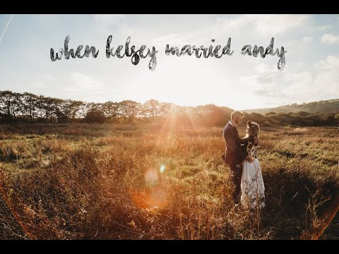 Kelsey & Andy's wedding at Fforest Farm by When Charlie met Hannah [ Real Outdoor Wedding Video ]
