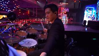 DEMAS NARAWANGSA (DRUM CAM) | Erwin Gutawa Orchestra - Agnez Mo (Godai Aku Lagi - Million $ Lover)