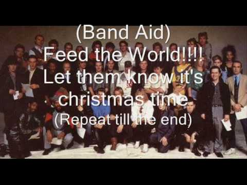 Do They Know Its Christmas Time.Band Aid Do They Know It S Christmas Lyrics Description Update