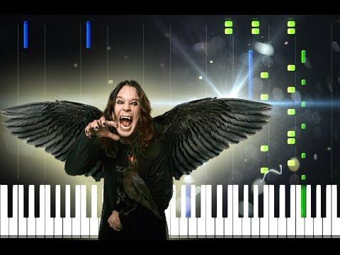 Ozzy Osbourne - Dreamer Piano Cover [Synthesia Piano Tutorial] Mp3