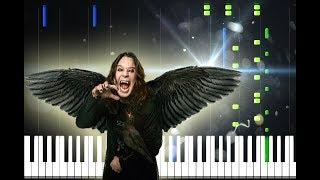 Ozzy Osbourne - Dreamer Piano Cover [Synthesia Piano Tutorial]