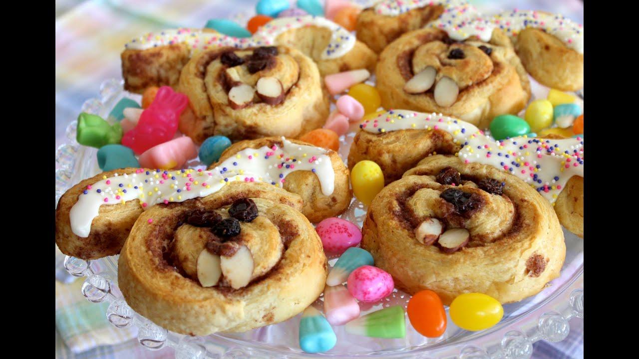 Cinnamon Roll Cinnabunnies For Easter