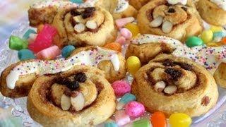 Cinnamon Roll Cinnabunnies For Easter - Fun Recipe Ideas For Kids