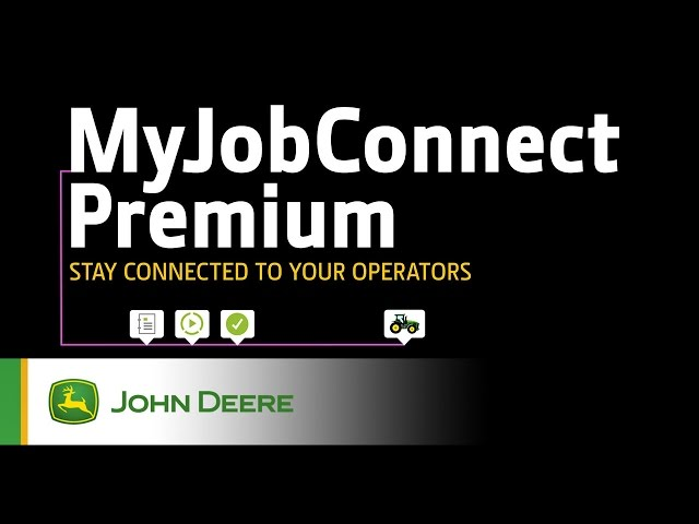 MyJobConnect Premium John Deere