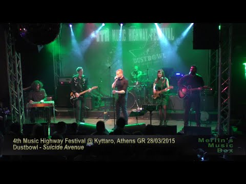 Dustbowl - 4th Music Highway Festival @Kyttaro, Athens 28/03/2015