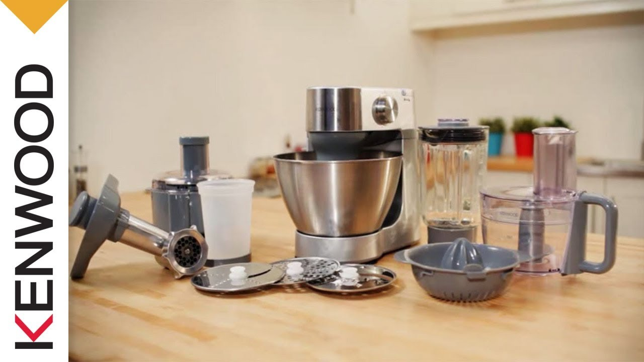 kenwood prospero kitchen machine product demonstration short version - Kennwood Kitchen