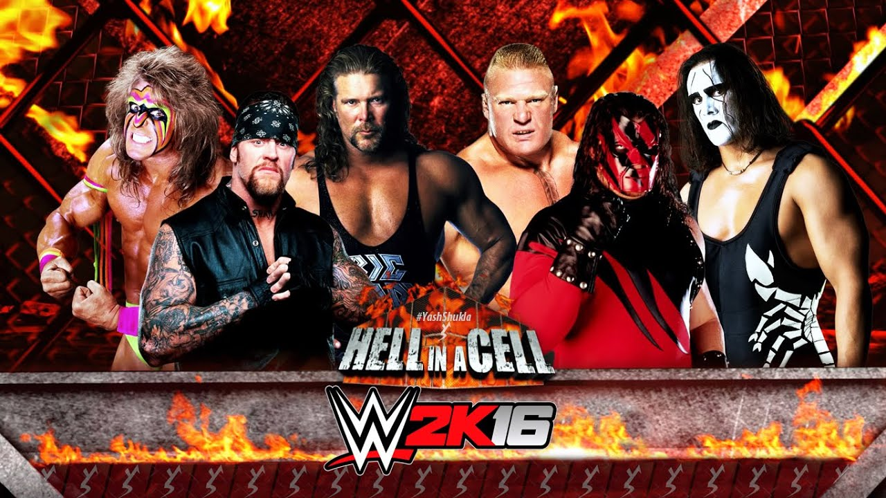 WWE 2K16 - Hell In A Cell Match | PS4 Gameplay - YouTube