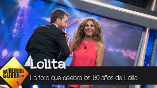 La espectacular foto de Lolita para celebrar su 60 cumpleaños - El Hormiguero 3.0