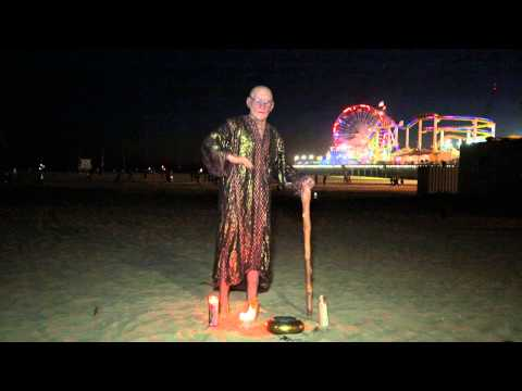 AMERICAS GOT TALENT Special Head LEVITATION Levitates at GLOW FESTIVAL on Santa Monica Beach