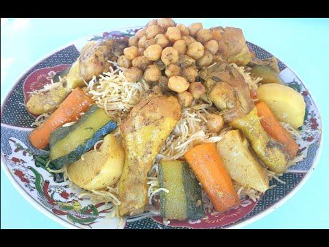 vermicelles-poulet-شعيرية-الدجاج