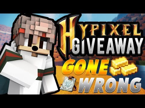 I DID A HYPIXEL RANK GIVEAWAY AND THIS HAPPENED...