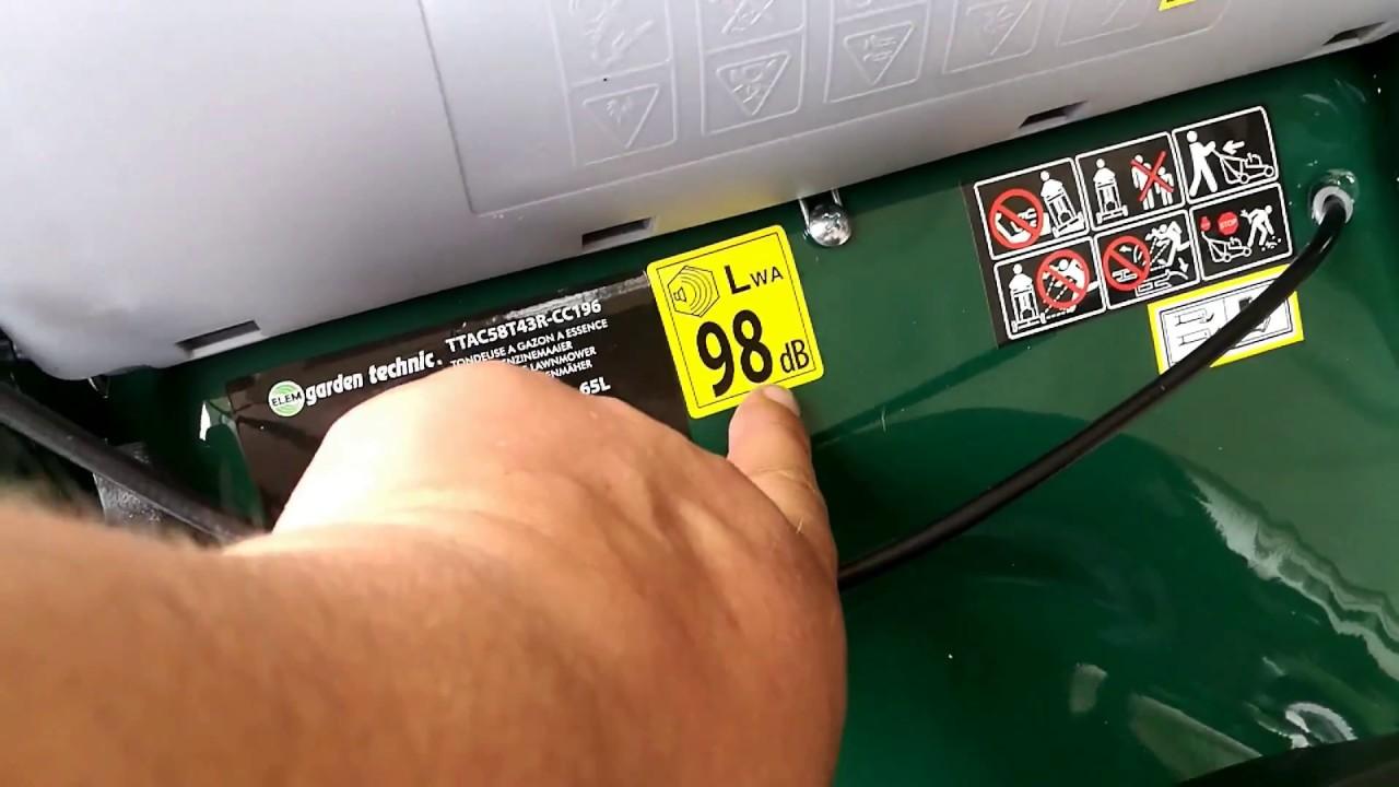 6c64483cf2b ELEM GARDEN TECHNIC Tondeuse débroussailleuse 4