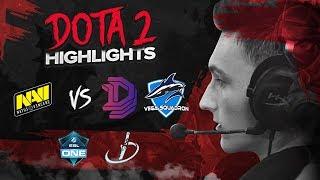 NAVI Dota2 Highlights vs Vega, Double Dimension @ ESL Hamburg, PW Masters