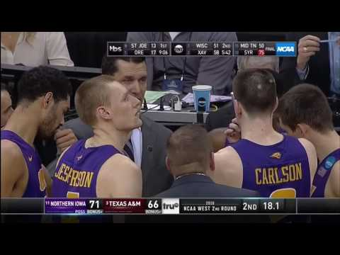 The Best March Madness Comeback of All-Time (Last 44 Second and 2 OT'S)