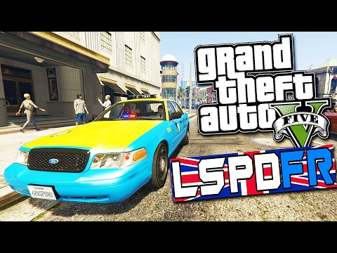 GTA 5 LSPDFR #25 - | UNDERCOVER STAKE OUT WITH PARTNER! | Unmarked Taxi Cab! |