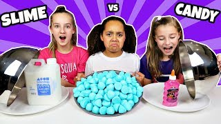 Don't Choose The Wrong Dish!! SLIME CHALLENGE