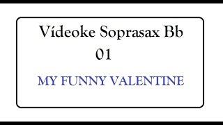 VIDEOKÊ - 01 - SOPRASAX Bb - Playback e Partitura com Guia