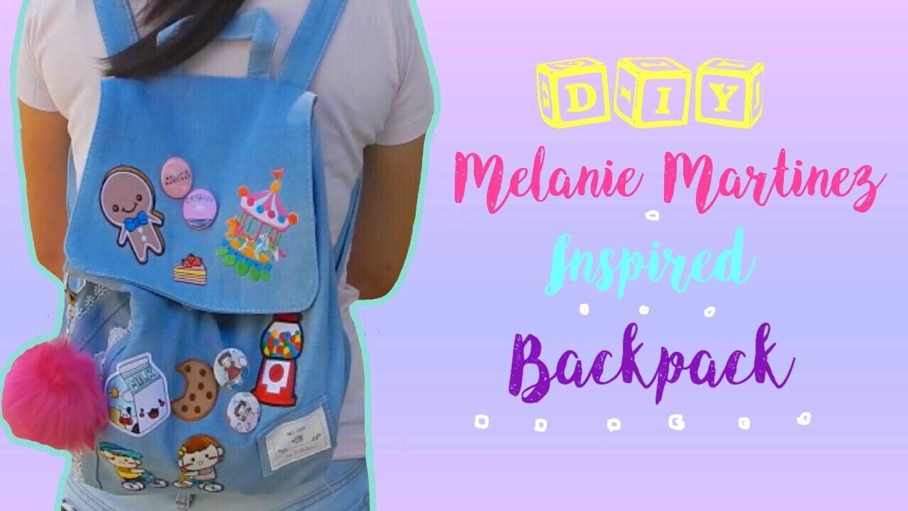 DIY Melanie Martinez Inspired Custom Backpack  DIY Back