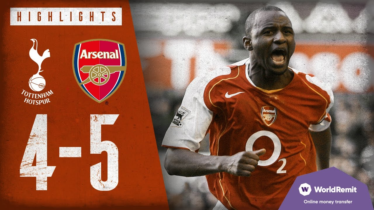 Download North London is red | Tottenham Hotspur 4-5 Arsenal | Classic highlights | 2004
