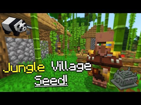 Jungle Village At Spawn Seed