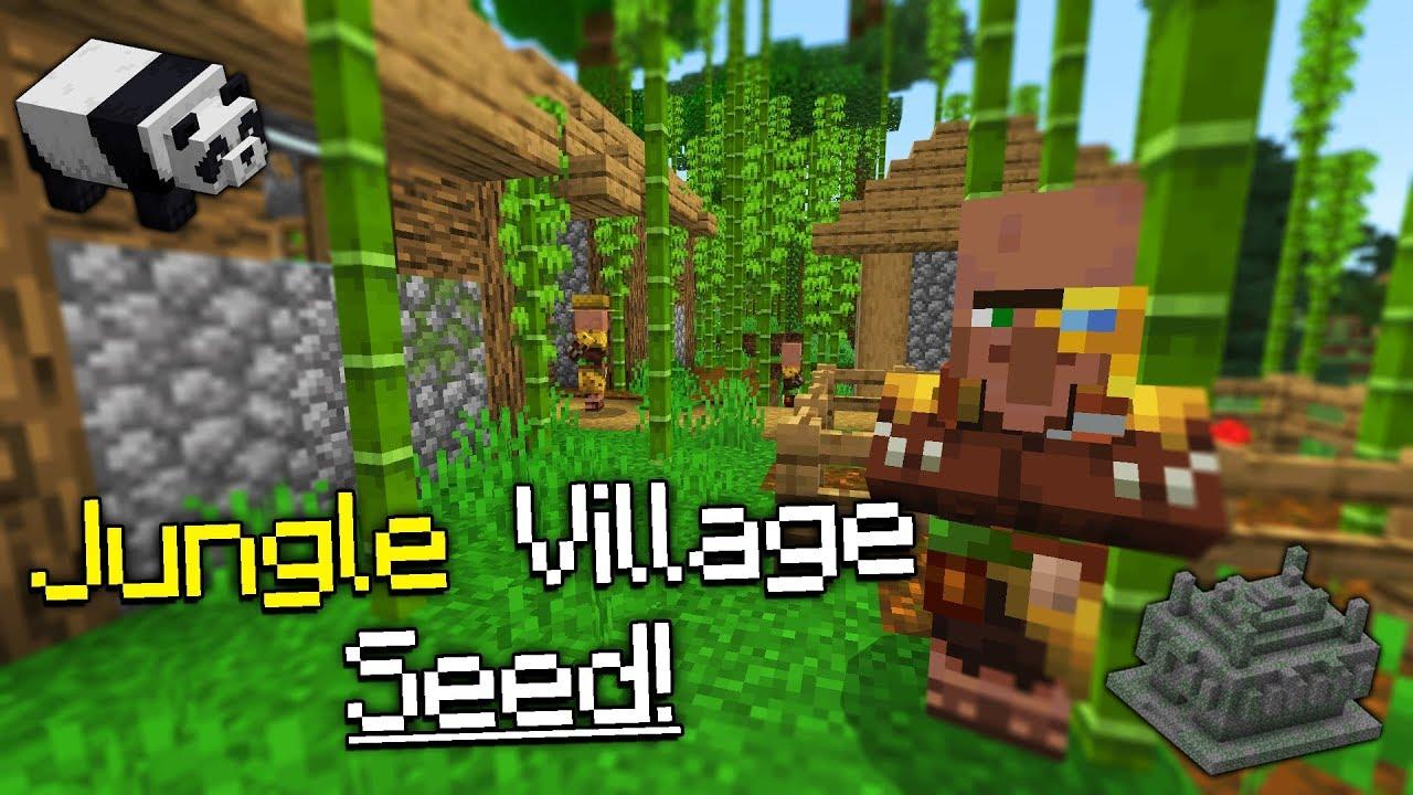 Jungle Village At Spawn Seed