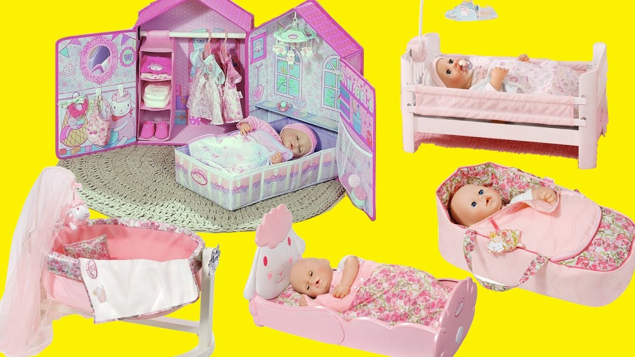 Toy Baby Doll Center : Baby dolls nursery center bedroom toys bed cradle