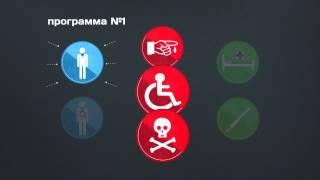 Страхование жизни от несчастного случая и болезней (инфографика)