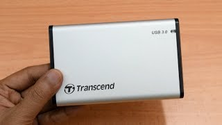 Transcend StoreJet 25S3 HDD/SSD Enclosure