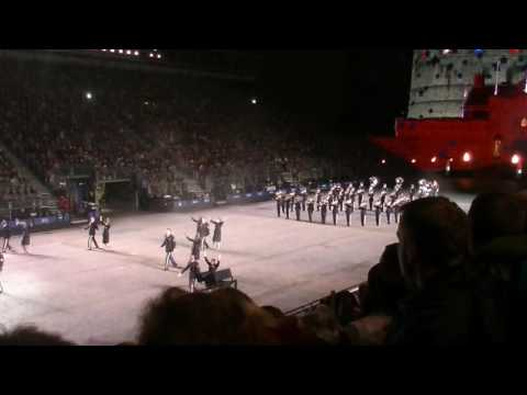 Royal Edinburgh Military Tattoo 2016: US Army Europe Band